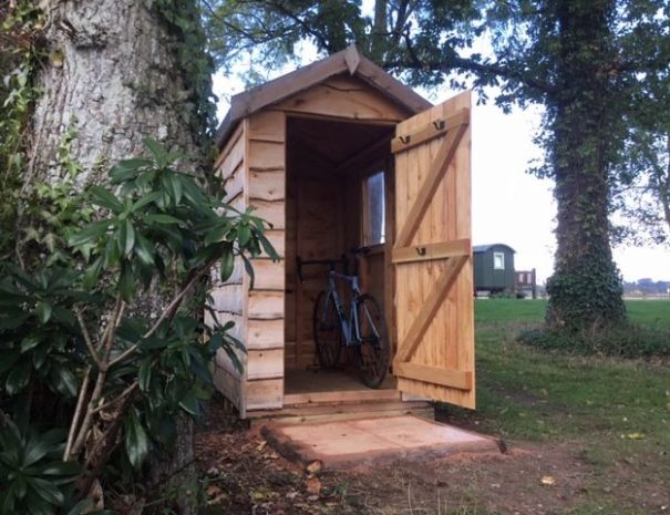 Lockable Bike Shed